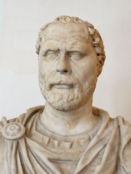 Demóstenes: Preeminente Orador e Político Grego de Atenas (a.C. 384–322)