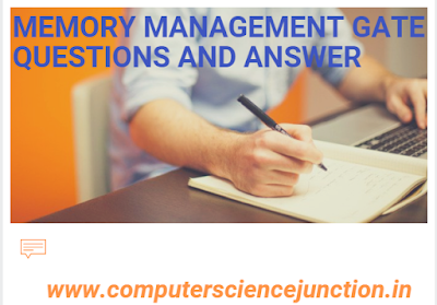 memory management questions and answer for gate