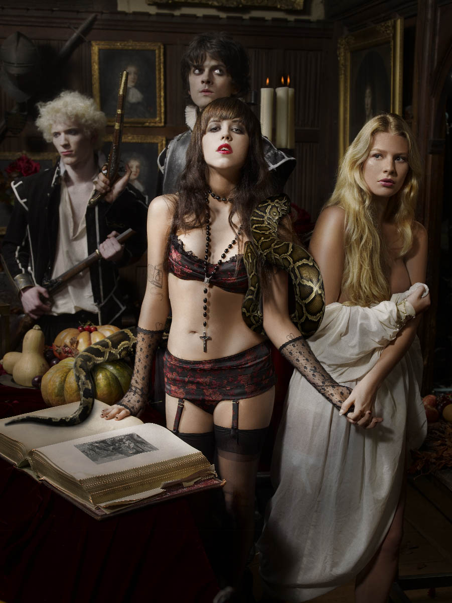 e5dc7309724e3 Agent Provocateur is a lingerie brand teetering on the edge of campy and  they made ample use of that element to promote their fragrant wares.