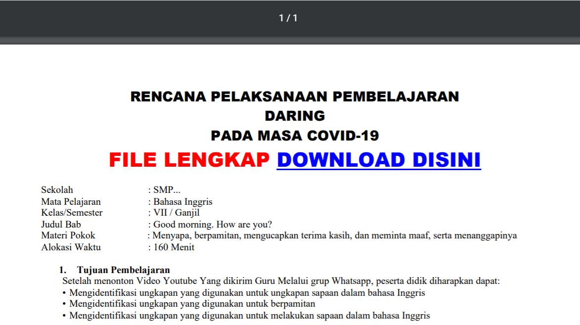 Cara Download Rpp Di Situs Guru Berbagi Kemendikbud Info Pendidikan Terbaru