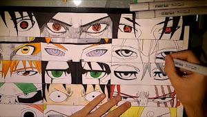 Menggambar Mata Laki-laki Ala Manga Dengan Mudah