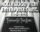 Tarzan of the Apes 1918 film title