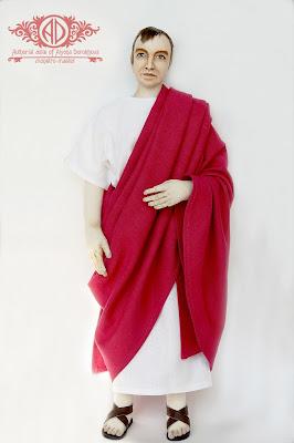 ADdoll_Filosof_1 Античный философ авторская текстильная кукла Алёны Дороховой