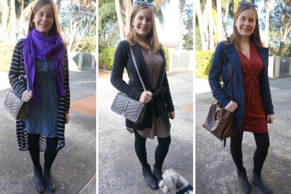 3 ways to wear Ankle Boots and Dresses in Winter | Away From Blue