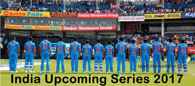 India Upcoming Home Series 2017