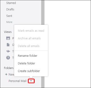 Cara Membuat Folder Email Yahoo! Di Dekstop Komputer