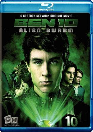 Ben 10 Alien Swarm 2009 BRRip 200Mb Hindi Dual Audio 480p Watch Online Full Movie Download bolly4u
