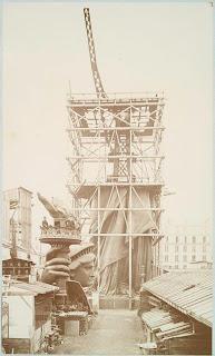 construção da Estátua da Liberdade