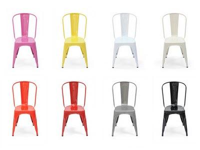 Dan Faires Tolix Chairs