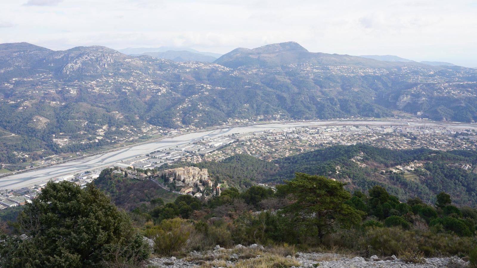 Carros Village seen from Balcons de Carros