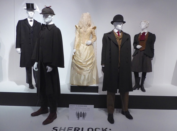 Sherlock Abominable Bride costume exhibit FIDM Museum