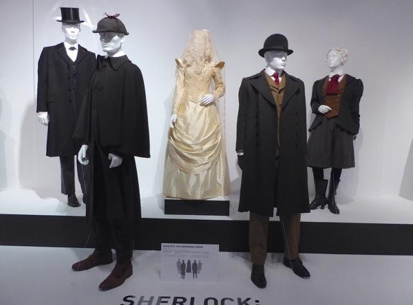 Sherlock Abominable Bride costume exhibit FIDM Museum