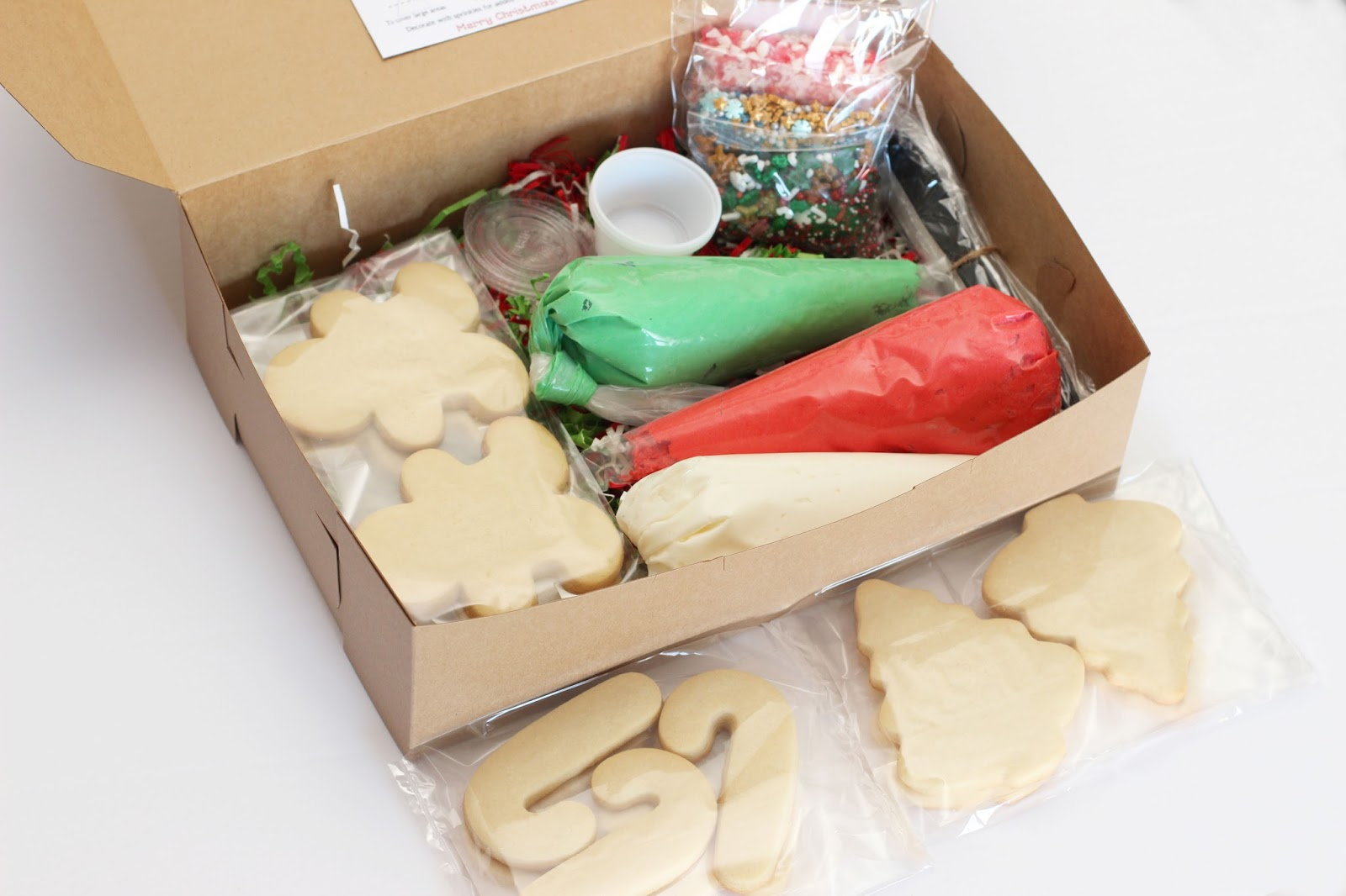 The Sugar Bee Bungalow Christmas Cookie Kits