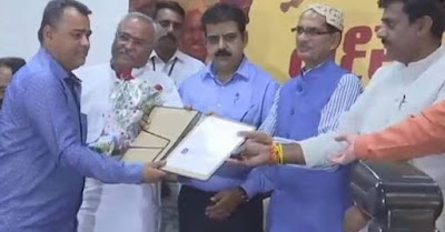 MP CM Gives Indian Citizenship To Sindhi