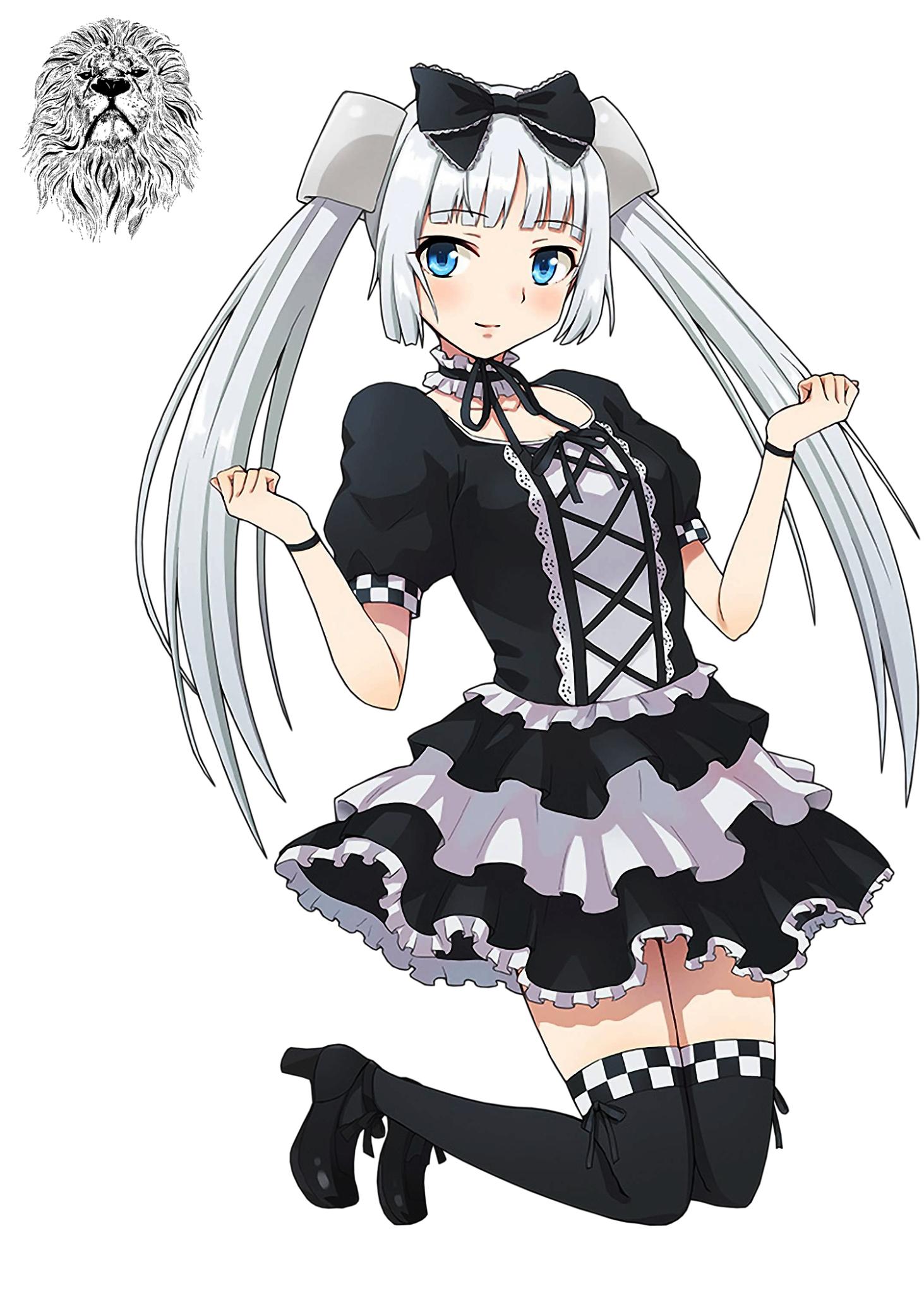PNG-Miss Monochrome