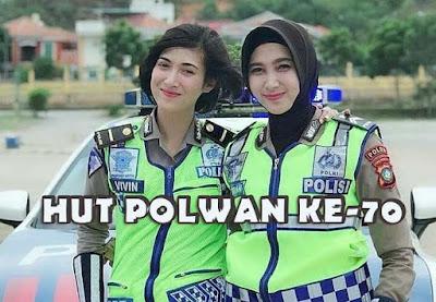 wallpaper polwan cantik indonesia