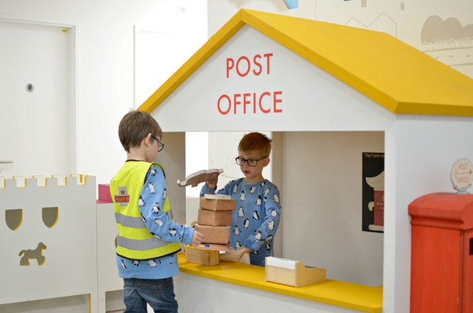 The Postal Museum, Sorted indoor play area