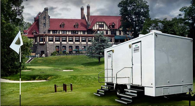 The Westchester NYC - Portable Restroom Trailers