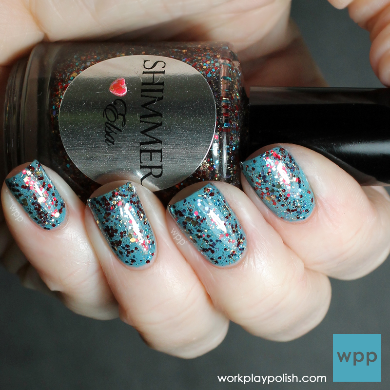 Shimmer Polish Elsa over a-england Galahad (work / play / polish)