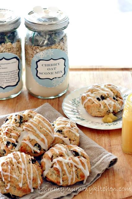 A Jar of scone mix