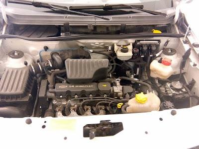 Motor do Chevrolet Agile