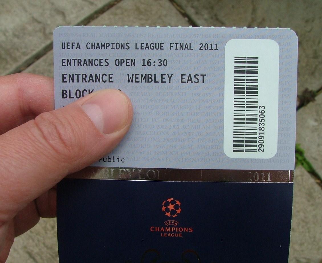 Tickets Champions League Finale