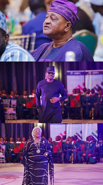 Ice Prince, Mercy Aigbe, KWAM 1, Iyanya, Others: Buhari Hosts Nigerian Entertainers In Aso Rock (Photos)