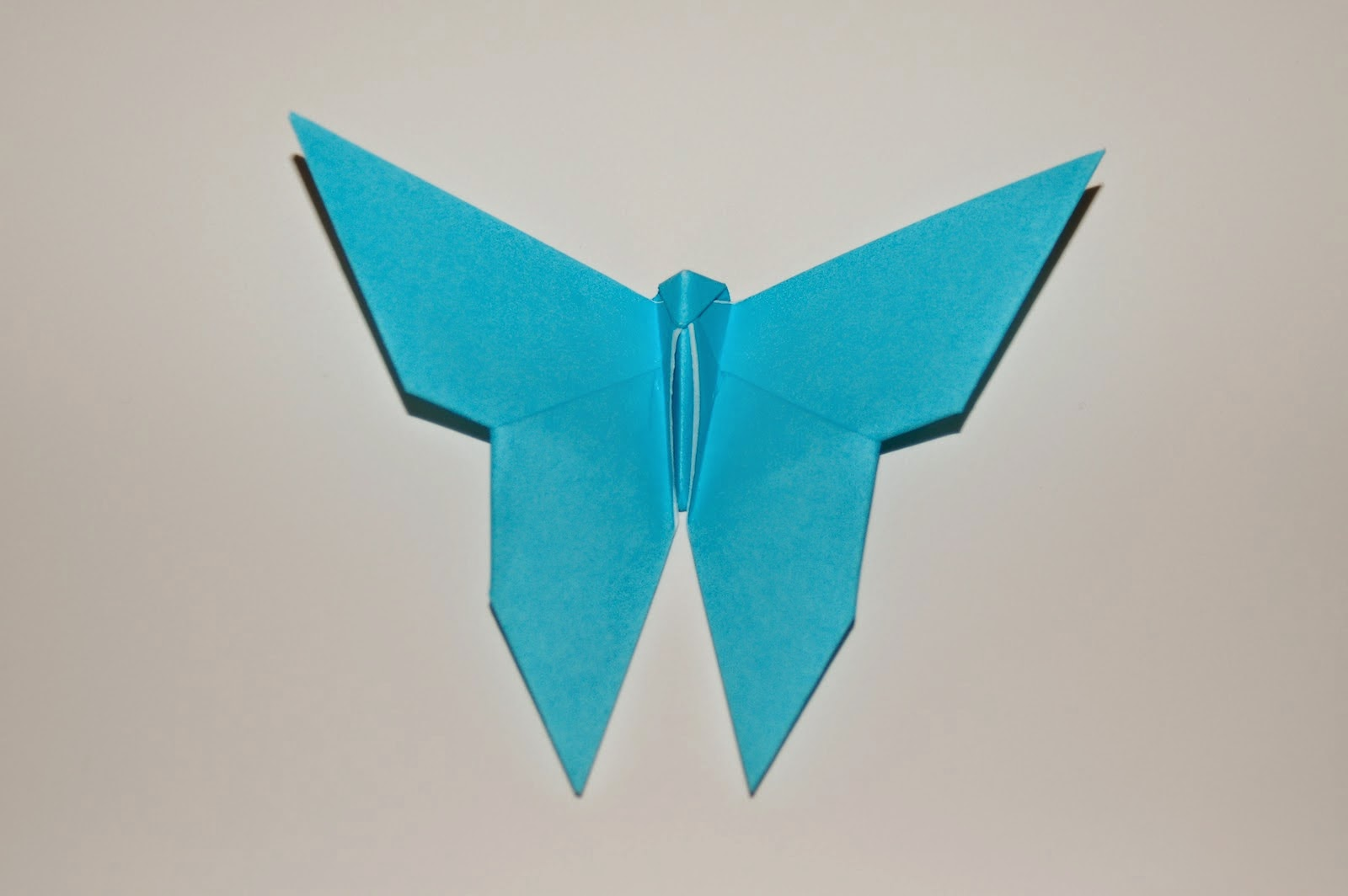 Easy Origami Instructions Butterfly For Kids Make