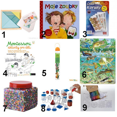 montessori dárky 4 roky gifts 4 years