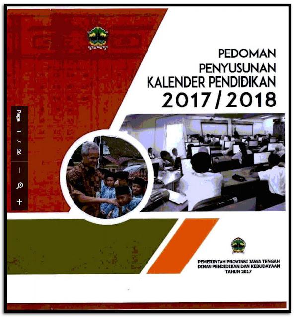 Rincian Lengkap Jadwal Kalender Pendidikan Tahun 2017/2018