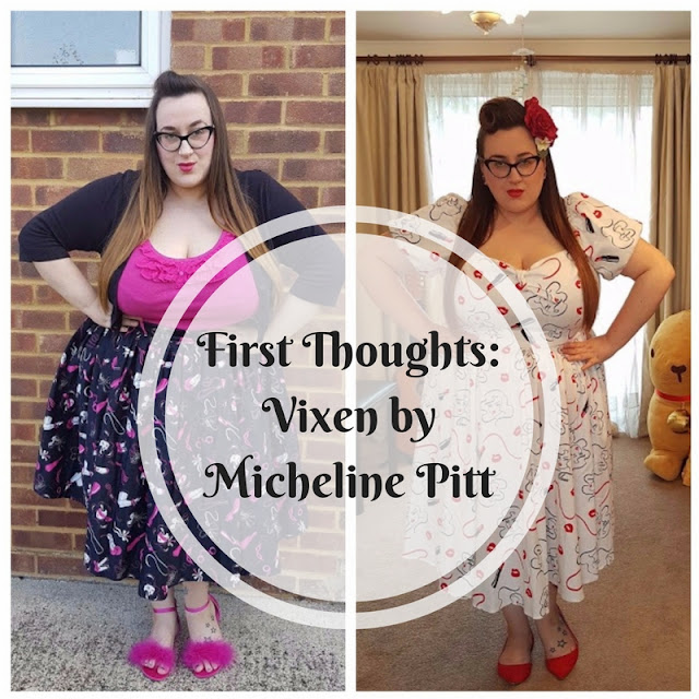 First thoughts on Vixen by Micheline Pitt for Plus Size