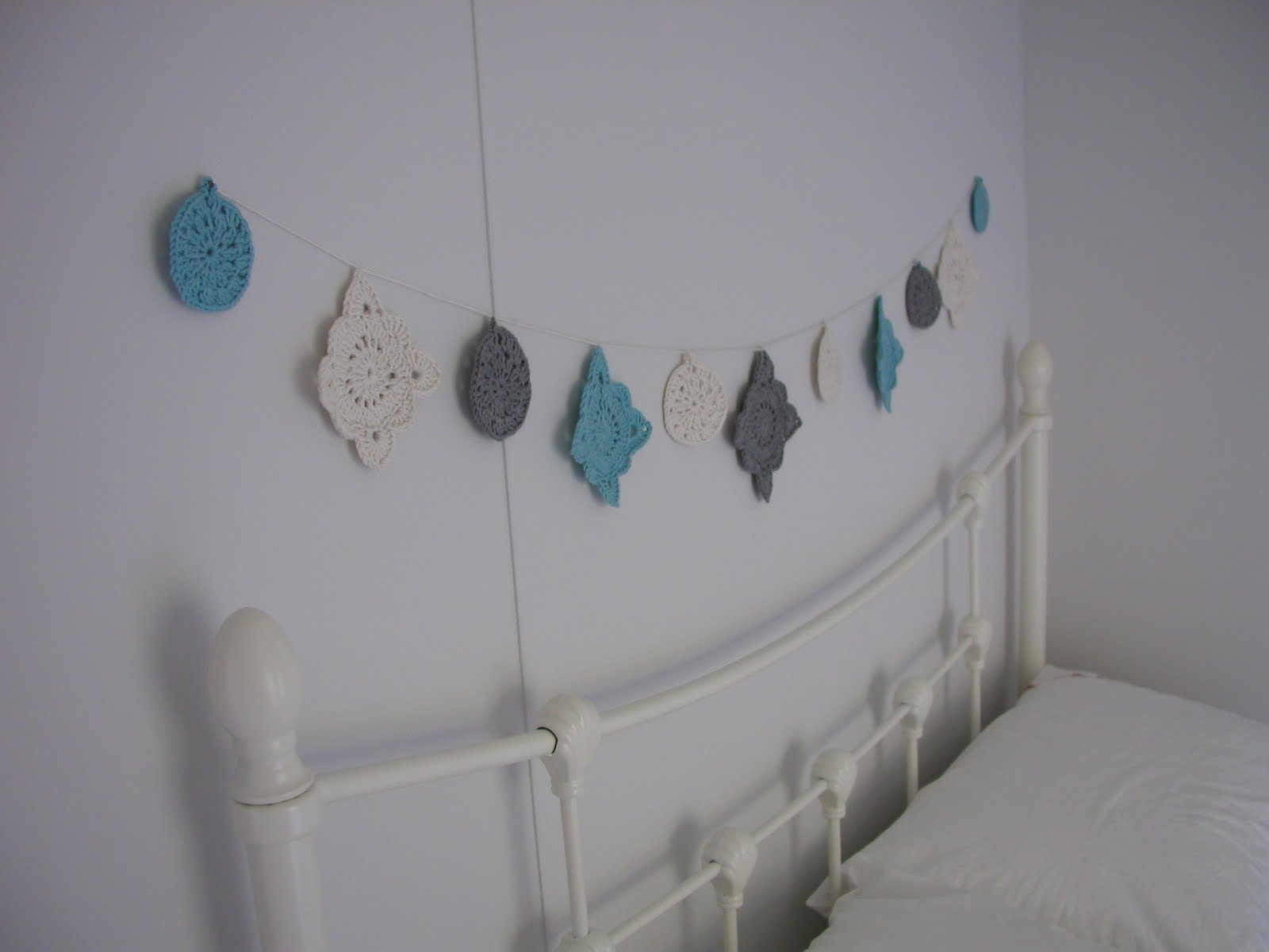 Hand Knitted Things Turquoise Grey And Raspberry Colour