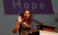 Katharine Hayhoe (Credit: theecologist.org) Click to Enlarge.