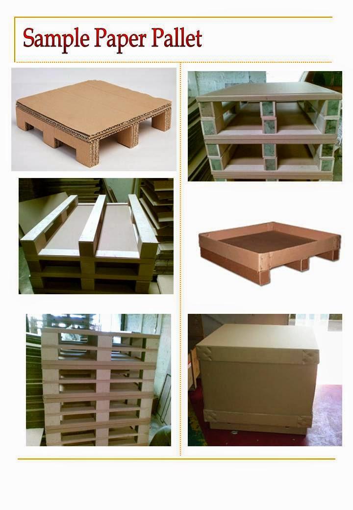 Supplier Packaging Pallet Kayu Paper Plastick