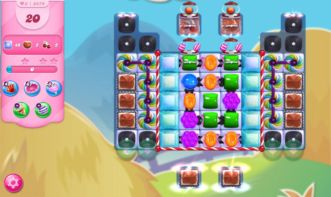 Candy Crush Saga level 6279