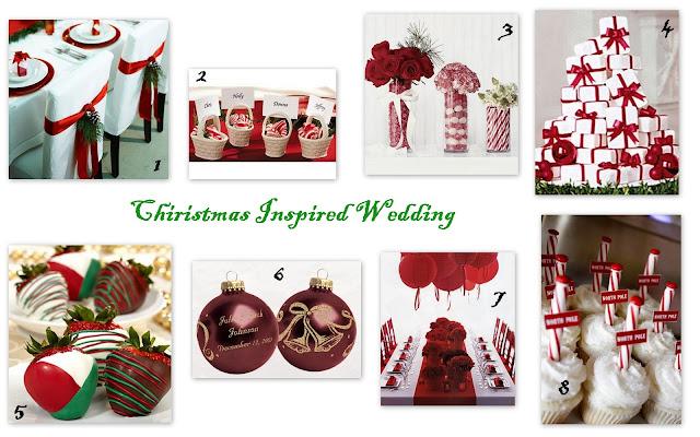 Christmas Inspired Wedding Ideas