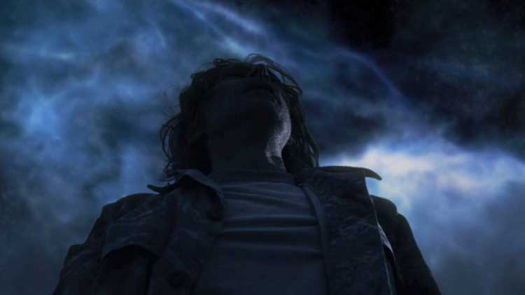 "Robert Carlyle as Dr. Rush in SGU's ""Justice"""