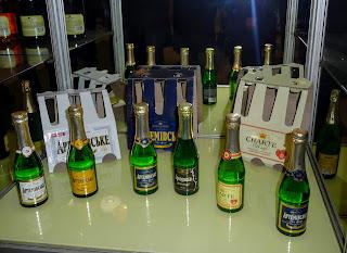 Бахмут. Продукция завода шампанских вин
