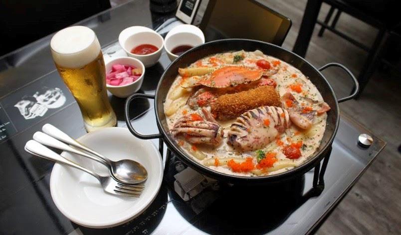 首爾名店-華麗的海辛年糕鍋