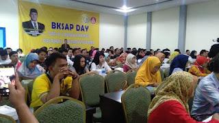Dave Sosialisasikan BKSAP Di kalangan Mahasiswa Cirebon