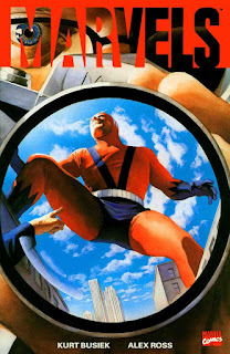 cover of Marvels TPB #1 (1994). Property of Marvel comics.