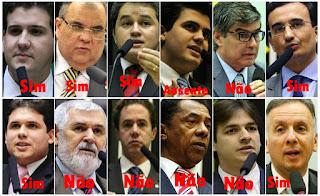 Saiba como votou a bancada da Paraíba na rejeição da denúncia contra Michel Temer