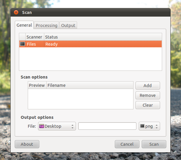 How to Install Flegita (Gnome Scan Front-end) in Ubuntu Linux ?
