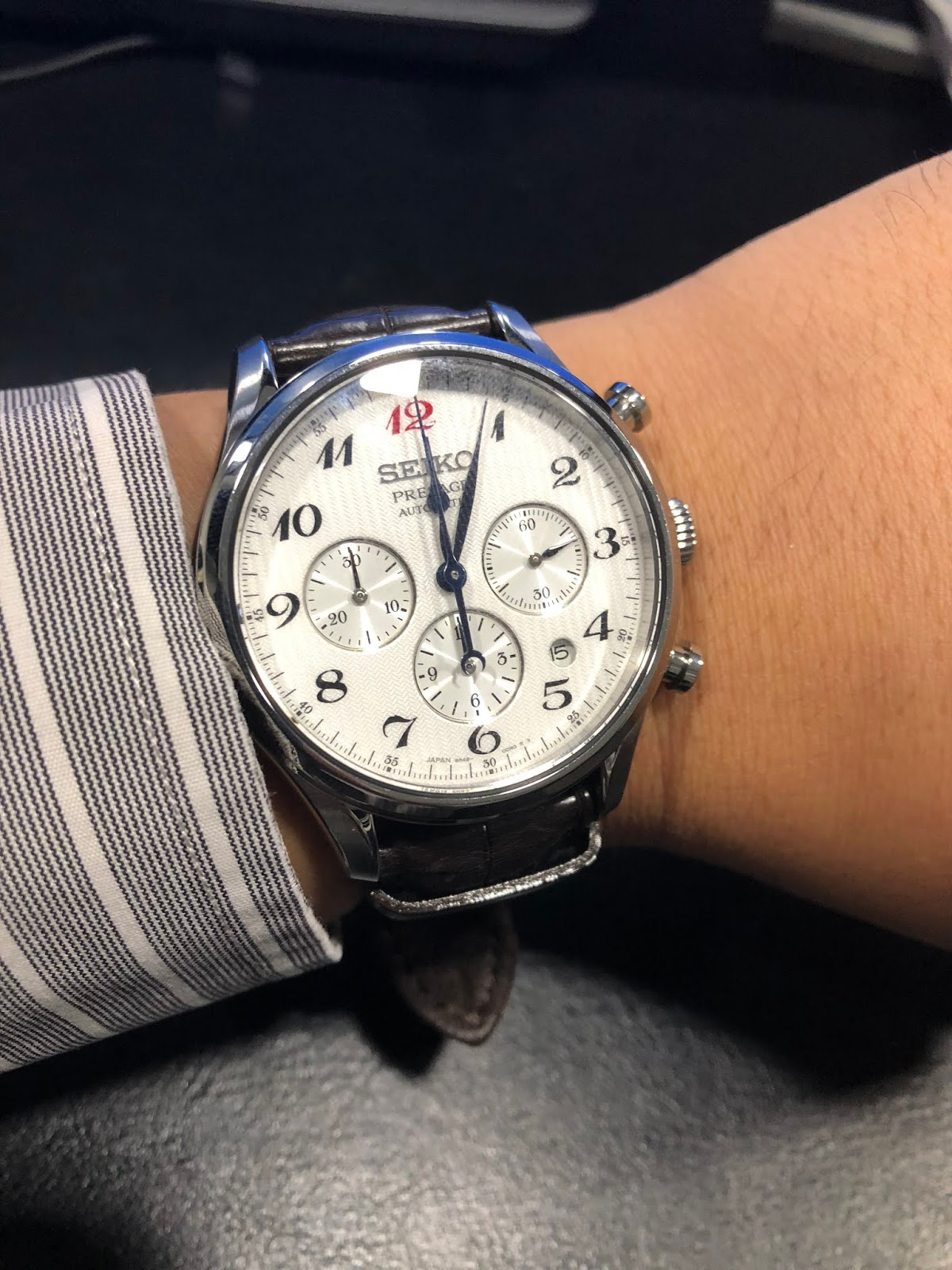 6a2f6dacad1cb Seiko Presage Chronograph SRQ025J1 (similar to SARK011) - It has that  formal ambiance and sophistication that not many watches have in its price  range