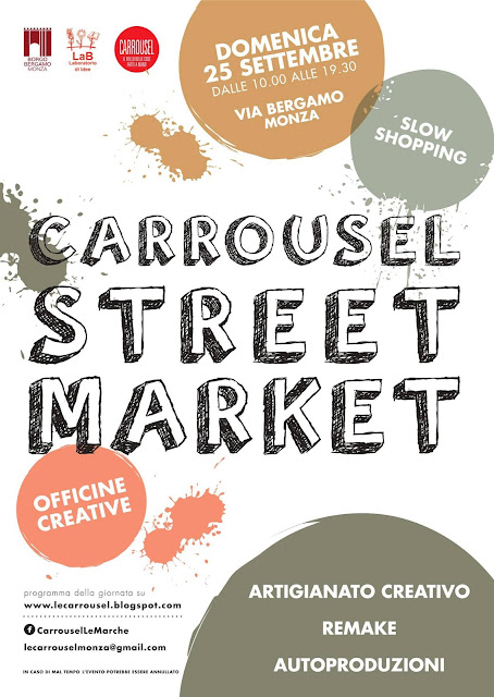 Locandina Carrousel streetmarket settembre