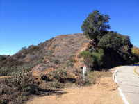 Trailhead on Glendora Mountain Road for Glendora Mountain, Angeles National Forest