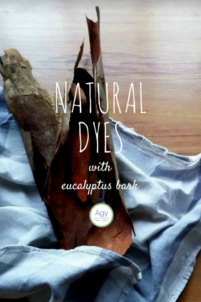 Natural Dyeing with Eucalyptus Bark