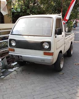 Jual Pickup Antik Minicab pickup 1984