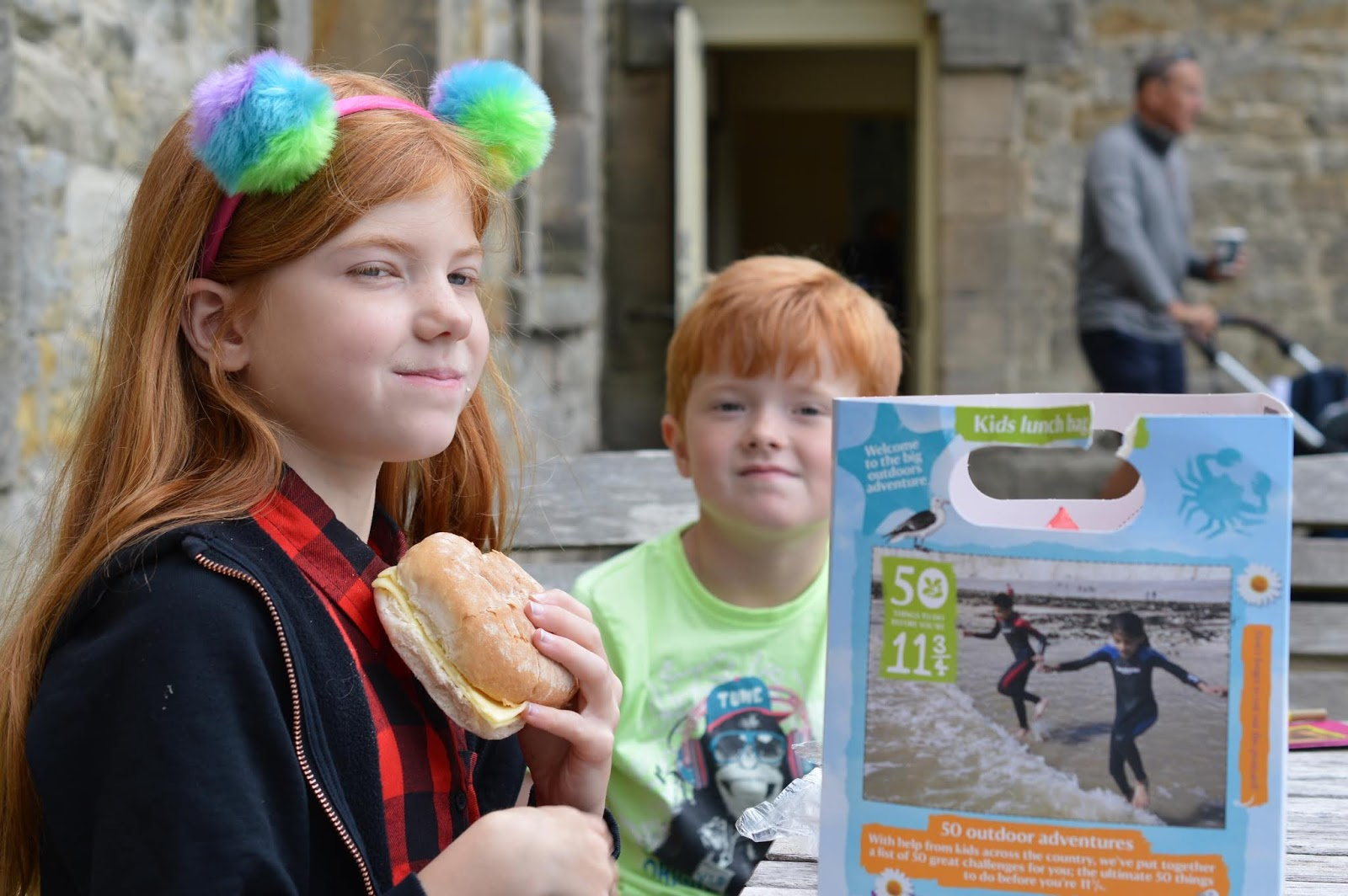 10 Reasons to Visit Seaton Delaval Hall  - kids lunch boxes