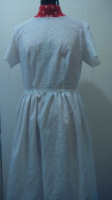 Emery dress - Christine Haynes - a muslin